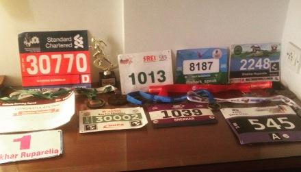 2015 Running bibs